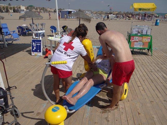Baño Adaptado Cruz Roja ~ Dikidu.com