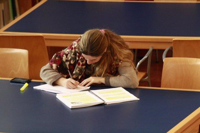 Universidad, Estudiantes, Estudios, Libros, Biblioteca, Lorenzana