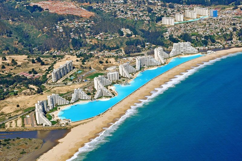 La piscina m s grande del mundo est en chile for Piscina mas grande del mundo chile