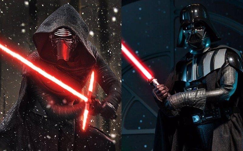 Disfraz de Darth Vader y Kylo Ren