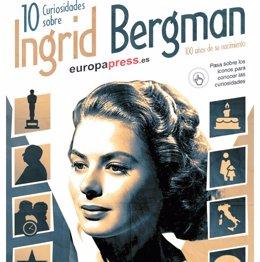 Foto: 100 años del nacimiento de Ingrid Bergman: 10 curiosidades sobre la legendaria actriz (EUROPA PRESS )