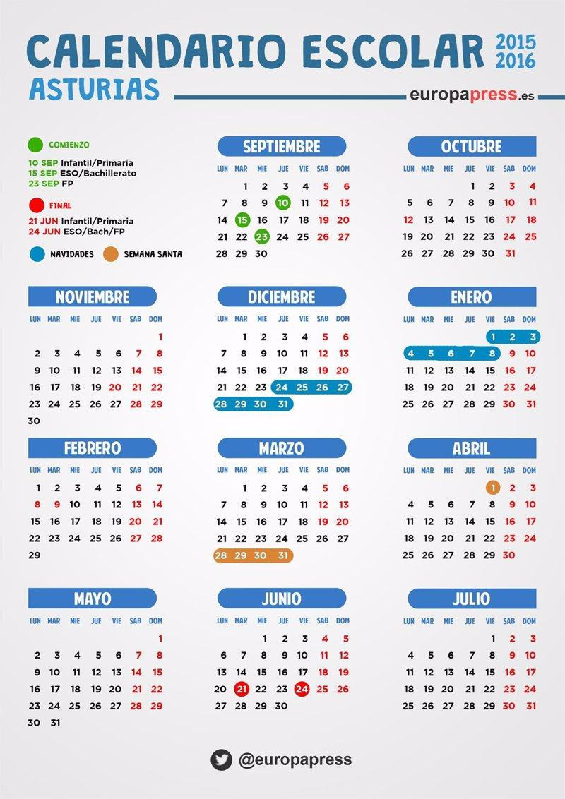 Calendario Eurocopa 2016 | Calendar Template 2016