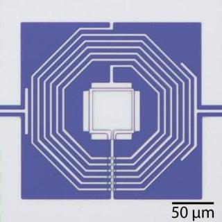 Dispositivo para la observación del movimiento cuántico