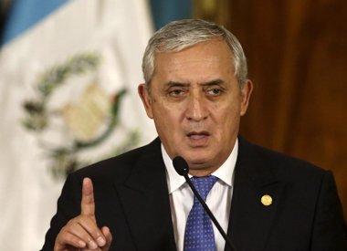 Foto: El Congreso de Guatemala retira la inmunidad a Pérez Molina (JORGE LOPEZ / REUTERS)