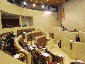 Foto: Parlamento.- Aprobada por unanimidad la ley de régimen sancionador sobre espectáculos en establecimientos públicos (EUROPA PRESS)