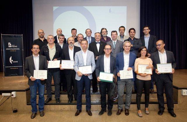 El colegio de arquitectos premia los proyectos m s - Colegio arquitectos almeria ...
