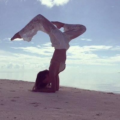 Foto: ¿Que puede hacer el yoga por tu piel? (INSTAGRAM: MIRANDA KERR)