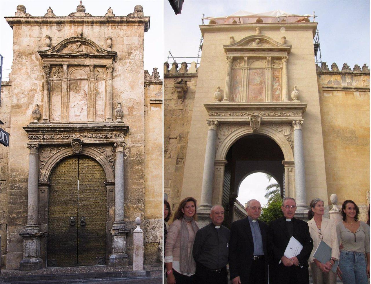 El cabildo recupera la puerta de santa catalina en la - Puerta europa almeria ...
