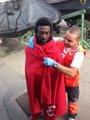 Trasladados a Ceuta seis migrantes rescatados en aguas del Estrecho