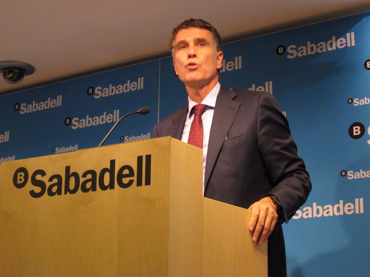 El Consejero Delegado De Banco Sabadell Jaume Guardiola