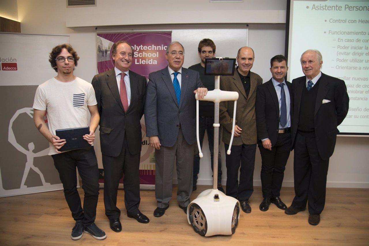 La udl presenta un prototipo de asistente personal for Oficina adecco barcelona