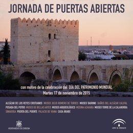 Córdoba conmemora el Día de Patrimonio Mundial con jornada de puertas abiertas en monumentos y museos