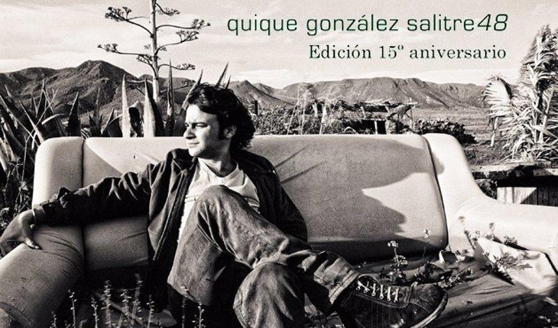 Quique gonz lez reedita su disco salitre 48 para celebrar for Quique gonzalez madrid