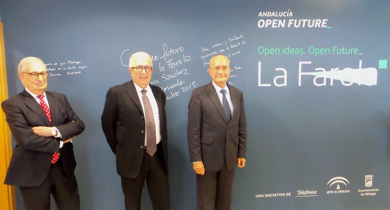 La farola de andaluc a open future arranca con ocho proyectos for Guia telefonica malaga