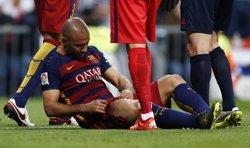 Mascherano pateix una contusió a la cuixa dreta sense lesió muscular (REUTERS STAFF / REUTERS)
