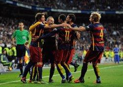 El FC Barcelona ja prepara el partit contra la Roma després de la golejada del Clàssic (GETTY)