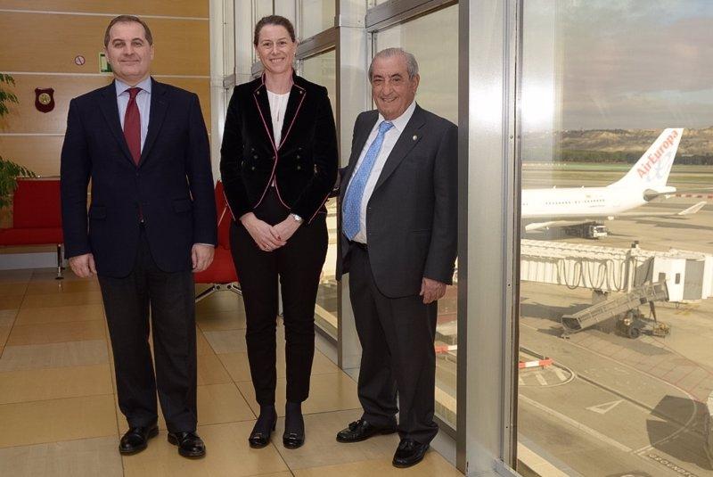 Aena adjudica a globalia una parcela en barajas para un hangar for Oficinas air europa madrid