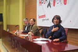 Colau defensa que Podem es compromet amb un referèndum català