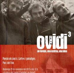 Un homenatge a Ovidi Montllor tancarà aquest diumenge el cicle Poesia als Parcs (DIPUTACIÓ DE BARCELONA)