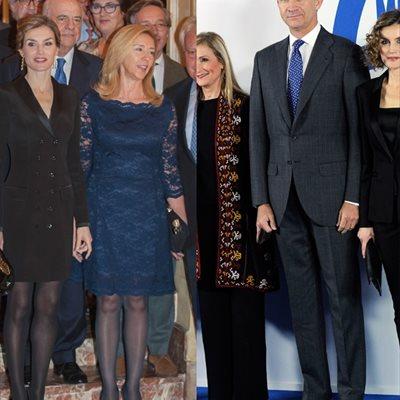 Foto: Letizia, una semana de esmoquin: del pantalón al dress (EUROPA PRESS/EL ESMOQUIN DE LA REINA LETIZIA)