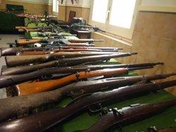 Decomissen més de 200 armes i 300 quilos d'explosius a un veí de Camprodon (EUROPA PRESS)