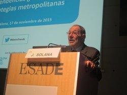 Solana avisa que el populisme i el terrorisme són enemics de la integració mediterrània (EUROPA PRESS)