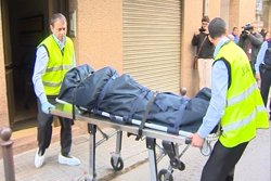 La porta de la parella d'ancians assassinada a Premià no estava forçada (EUROPAPRESS)