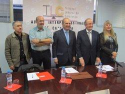 El Govern valora que l'AIC és un clar exemple de la concertació i el diàleg a Catalunya (EUROPA PRESS)
