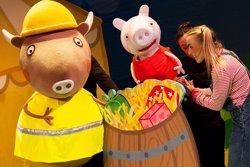 El musical de Peppa Pig prorroga a Barcelona fins al 23 de desembre (CEDIDA)