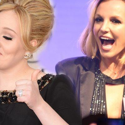 Foto: Para Adele, la reina es Britney... ¿Qué pasa con Madonna? (GETTY/PARA ADELE LA REINA ES BRITNEY SPEARS)