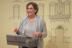 Colau insisteix en un referèndum per a Catalunya davant l'