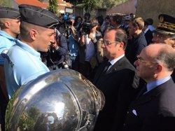 Hollande assegura que lluita contra el terrorisme i el canvi climàtic estan relacionades (PALACIO DEL ELÍSEO)