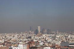 Madrid torna a activar el protocol de contaminació i limita la velocitat a la M-30 (JOSEFINA BLANCO)