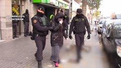 Presó per als tres detinguts a Barcelona per actuar com a