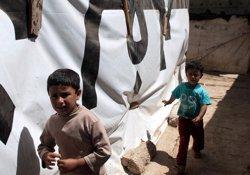 Unicef alerta que l'arribada de l'hivern agreujarà les dificultats dels nens refugiats (ACCIÓN CONTRA EL HAMBRE)