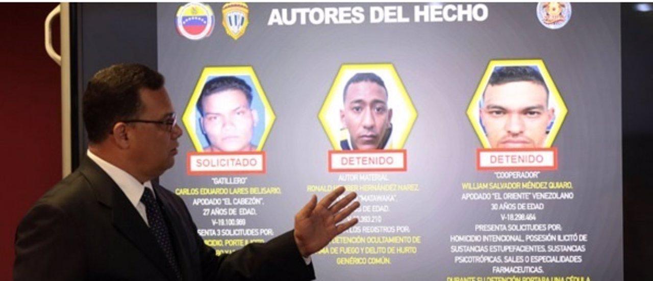 Venezuela considera que el asesinato de d az est for Ministerio de interior venezuela