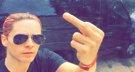 Jared Leto enfadado por el robo de un vídeo privado