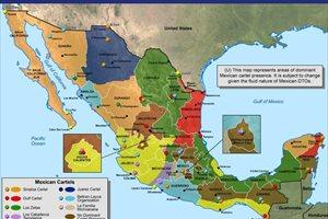 Estos son los siete cárteles mexicanos que tienen el control de la droga de EEUU