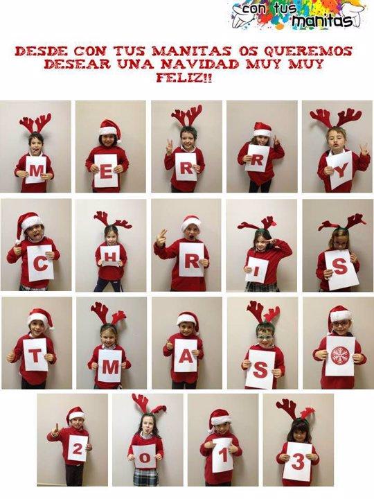 6 tipos de felicitaciones de navidad originales para este a o - Targetas de navidad originales ...
