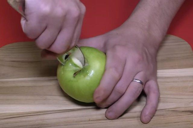 paso 1 manzana