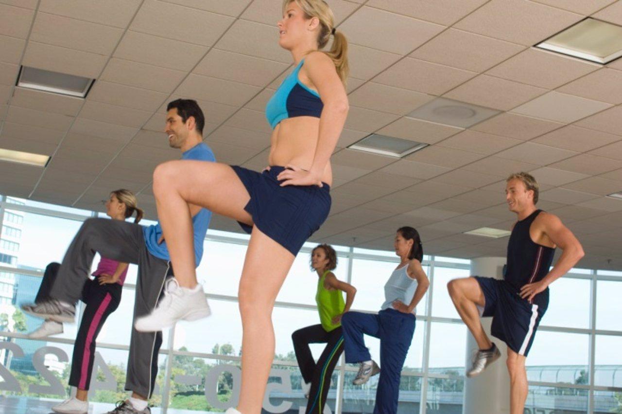 Aerobic, ejercicio, deporte, clases
