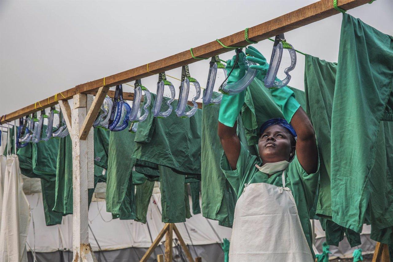 Centro de ébola de MSF en Sierra Leona