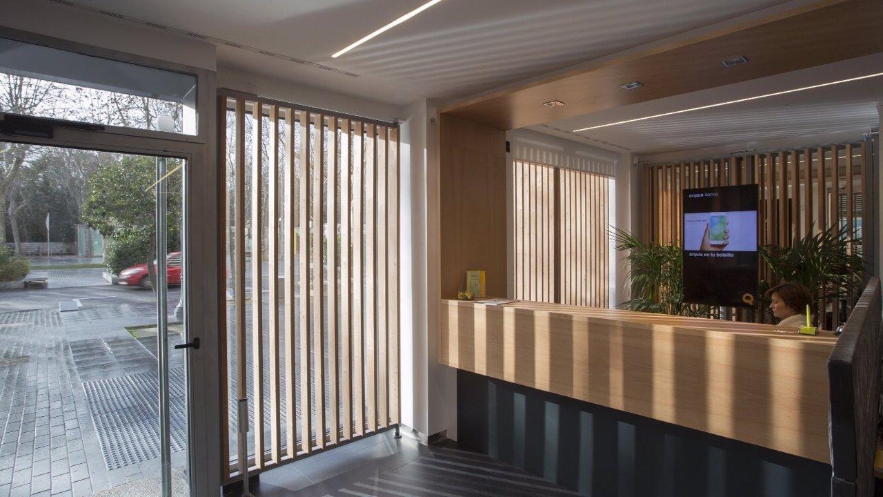 La caja de arquitectos abre nueva sucursal en valladolid for Caja laboral valladolid oficinas
