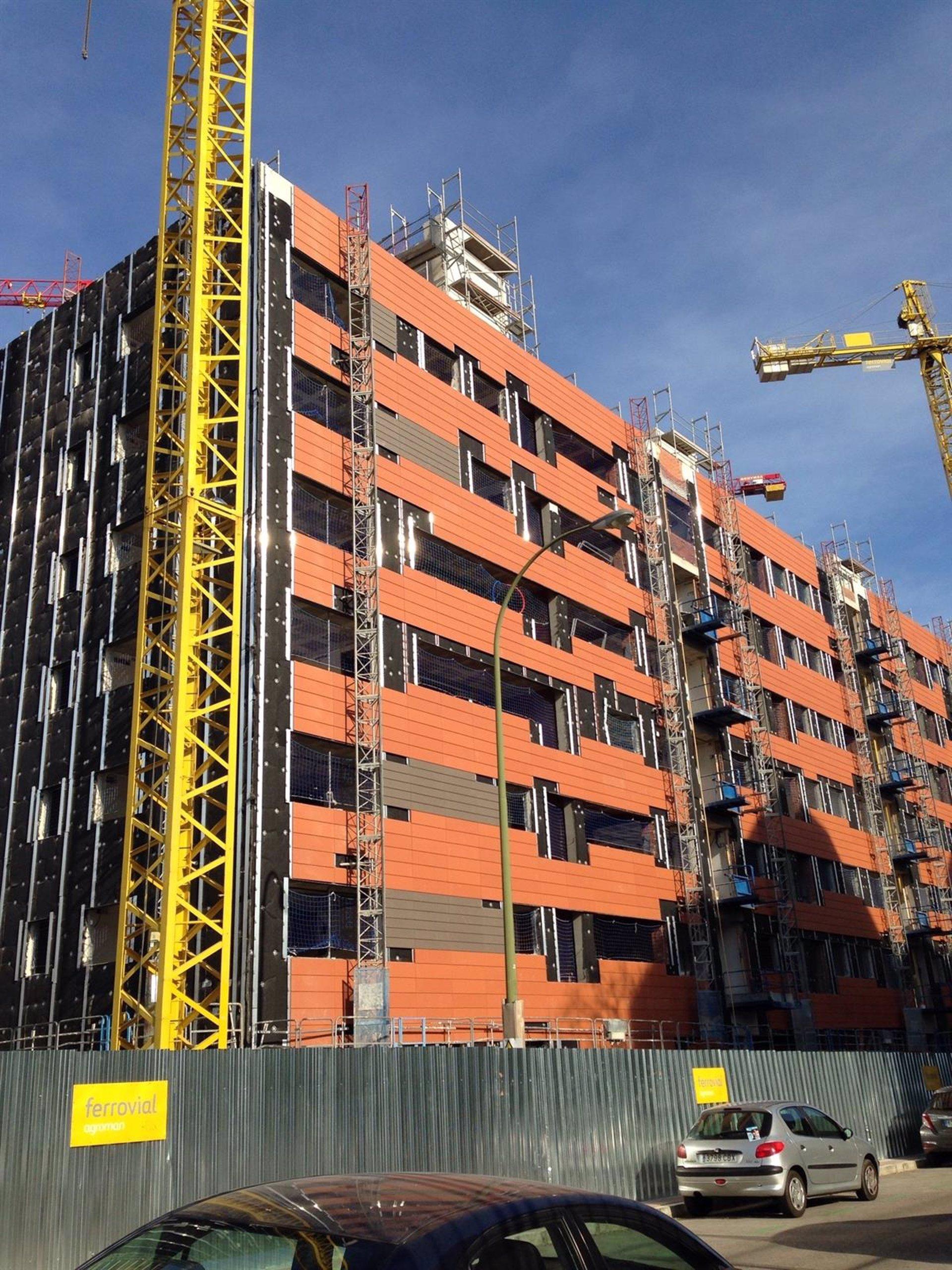 Una cooperativa que ha edificado en el centro de madrid for Cooperativa pisos madrid