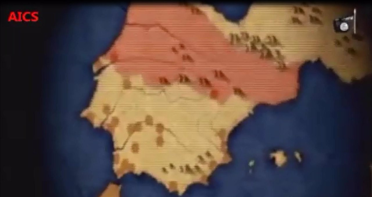 Vídeo del Estado Islámico amenazando a España