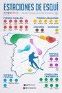 Foto: Mapa de las estaciones de esquí de España   Estado de la nieve