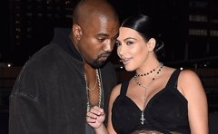 Kayne West pone a dieta a Kim Kardashian
