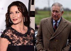 El príncipe Carlos de Inglaterra y Catherine Zeta-Jones pudieron tener un affair