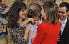 La imagen más cariñosa de la Reina Letizia con los más pequeños