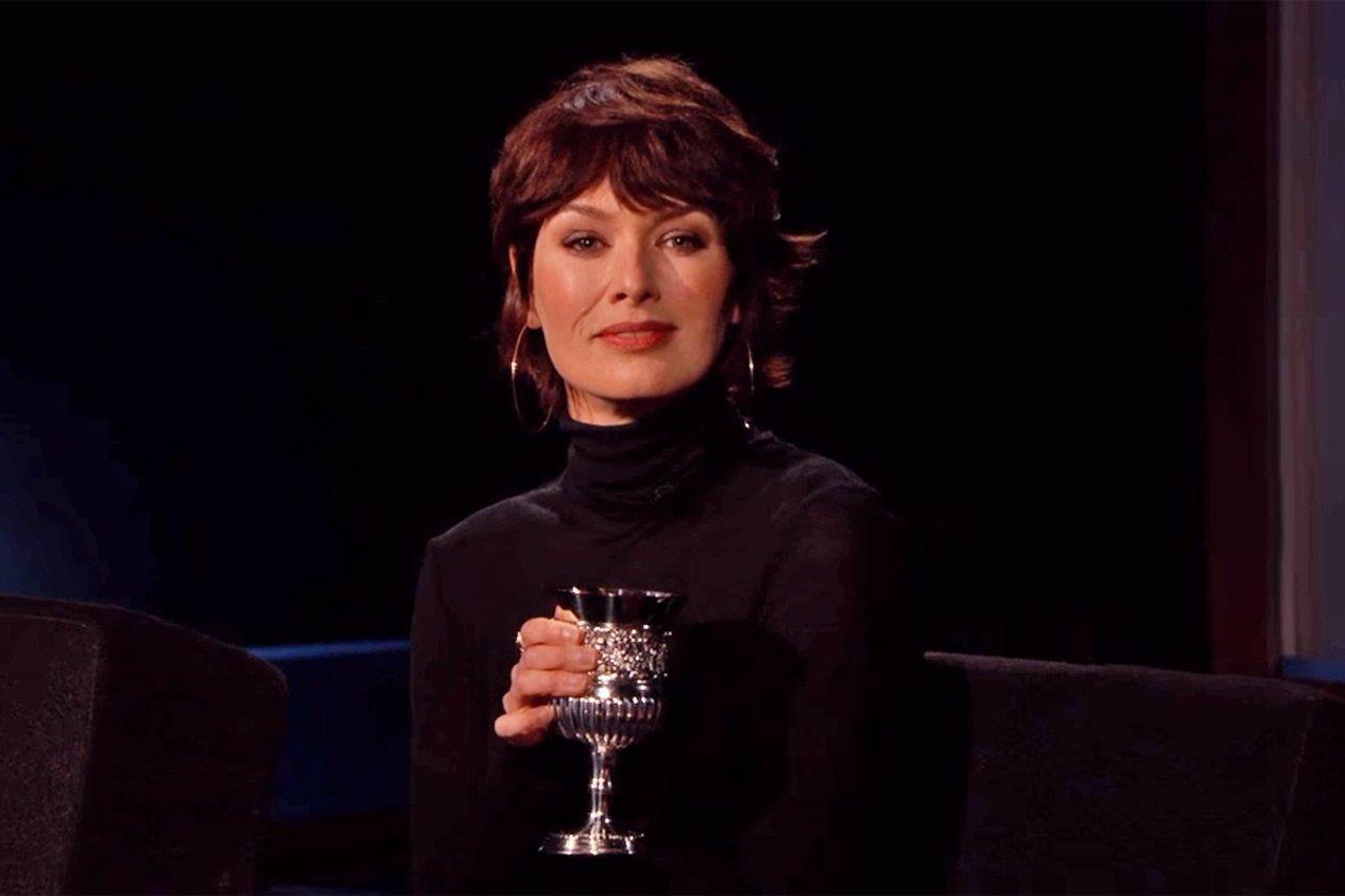 Lena Headey en el programa de ABC